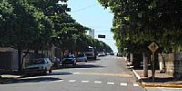 Rua da cidade-Foto:Lucas Souza