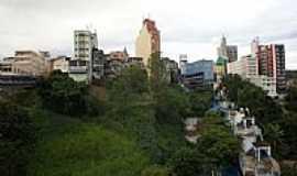 Aparecida - Cidade alta de Aparecida-Foto:Paulo Yuji Takarada