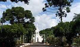 Aparecida de São Manuel - Igreja de N.S.Aparecida-Foto:Carlos Roberto Bogat…
