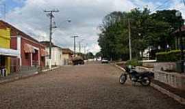 Aparecida de São Manuel - Rua Mariano L.de Oliveira-Foto:Carlos Roberto Bogat…
