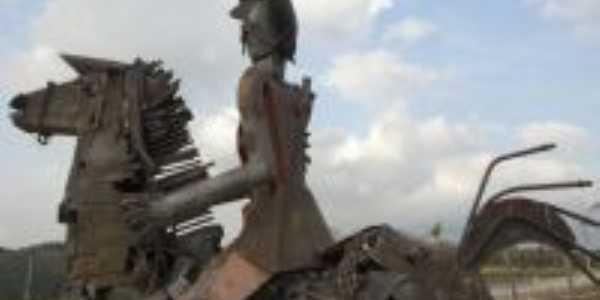 Escultura Don Quixote, Por jos� gon�alves filho- Foguinho -Fotografo-Sorocaba-sp