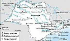 Araçatuba - Mapa