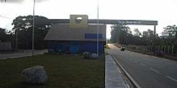 Portal de Entrada da cidade foto João Savioli