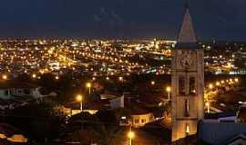 Araraquara - Vista Noturna da Igreja de Santo Ant�nio Foto de Joel D. Corr�a Jr.