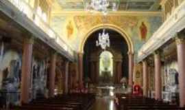 Araras - Interior da Igreja Matriz de Araras, SP, Por Roberto GASPARINNI