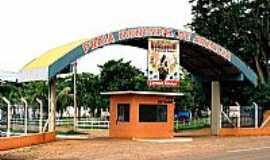 Arealva - Arealva-SP-Portal de entrada da Praia Municipal-Foto:Zekinha