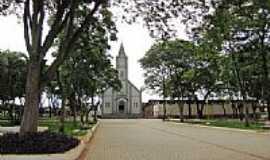 Arealva - Arealva-SP-Praça e Igreja de São Francisco-Foto:gustavo_asciutti