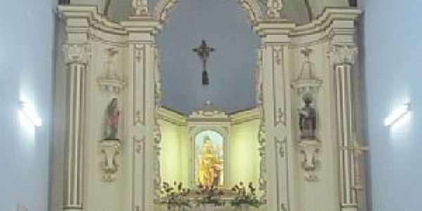 Areias-SP-Altar da Matriz de Sant´Ana-Foto:Eugenio C. Nicolau