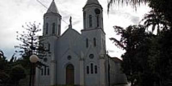 Igreja Matriz de S�o Sebasti�o em Ava�-Foto:Wilson Alcaras