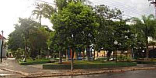 Praça da Matriz em Avaí-Foto:Wilson Alcaras
