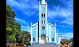 Avar� - Igreja S�o Benedito.. Por Marco Antonio Pareja