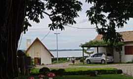 Avaré - Avaré-SP-Represa de Jurumirim aos fundos da AFPESP-Foto:Marcelo Venturi
