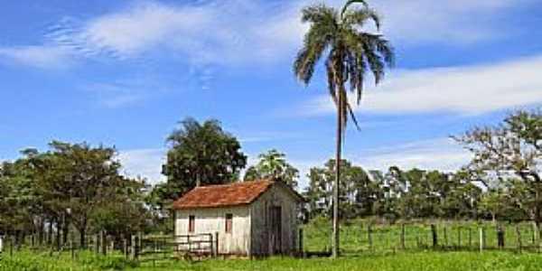 Avencas-SP-Casinha de madeira em área rural-Foto:Ralph Mennucci Giesbrecht