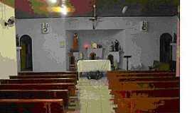 Baguaçu - Baguaçu-SP-Interior da Capela de São José-Foto:olimpiaigrejaaparecida.