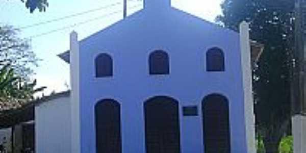 Outeiro Redondo-BA-Igreja de Boa Vista no Sub-Distrito-Foto:arquivomunicipaldesaofelix.blogspot.