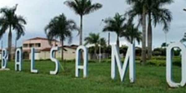 B�lsamo-SP-Trevo de acesso da cidade-Foto:www.anda.jor.br