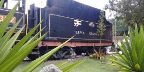 Locomotiva Teresa Cristina, Por Zéck Broca