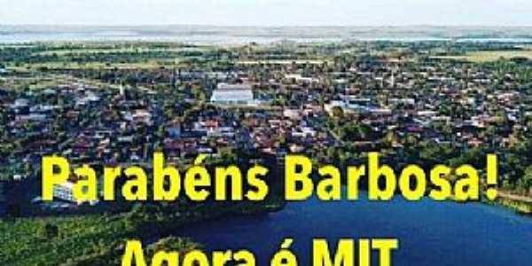 Barbosa entrou para o rol de cidades turísticas do Brasil!