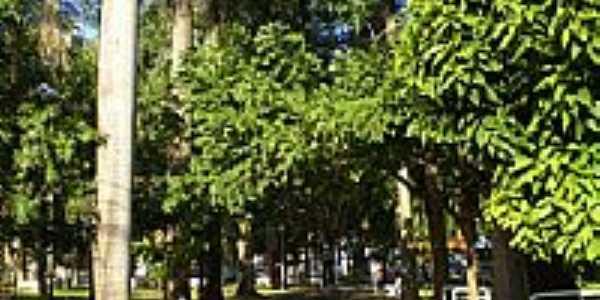 Bariri-SP-Praça Independente-Foto:Pedro Aguinaldo