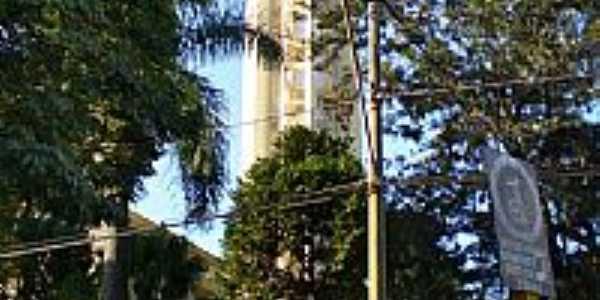 Bariri-SP-Torre e Relógio da Matriz de N.Sra.das Dores-Foto:Pedro Aguinaldo
