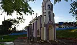 """Barra Bonita - Réplica da Igreja Matriz de São José """"BARRA BONITA - SP CIDADE SIMPATIA"""""""