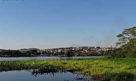 Barra Bonita - Barra Bonita-SP-O Rio Tietê e a cidade-Foto:gustavo_asciutti