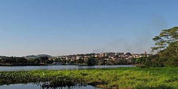 Barra Bonita-SP-O Rio Tietê e a cidade-Foto:gustavo_asciutti