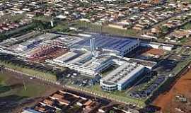 Barretos - Barretos-SP-Imagem da Fundação Pio XII,conhecido como Hospital do Câncer-Foto:alfredojunior.wordpress.com