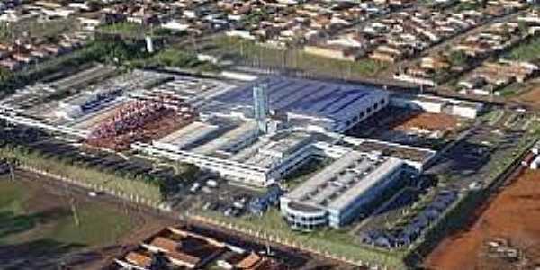 Barretos-SP-Imagem da Fundação Pio XII,conhecido como Hospital do Câncer-Foto:alfredojunior.wordpress.com