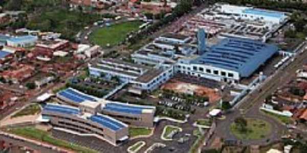 Barretos-SP-Imagem da Fundação Pio XII,conhecido como Hospital do Câncer-Foto:snookerclube.com.br