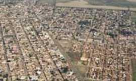 Barrinha - Vista aerea de Barrinha, 2003, Por Tiago