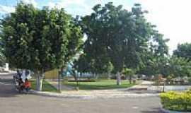 Pajeú do Vento - Praça em Pageú-BA-Foto:Marcio Vaz Cardoso