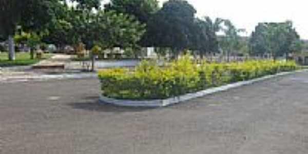 Praça e Avenida em Pageú-BA-Foto:Marcio Vaz Cardoso