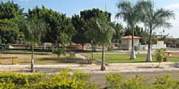 Praça em Pageú-BA-Foto:Marcio Vaz Cardoso