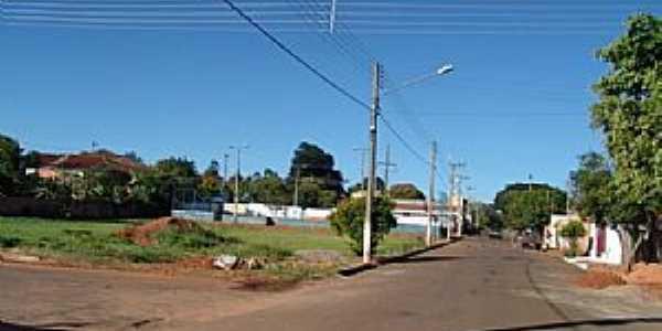 Batista Botelho-SP-Avenida na entrada do Bairro-Foto:wikimapia.org