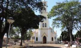 Bilac - Igreja Matriz vista de frontal, Por Eugênio leandro Moimás de Brito