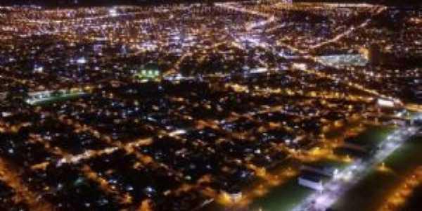 Vista área da Avenida Alto Silvares, Por Teka Betine