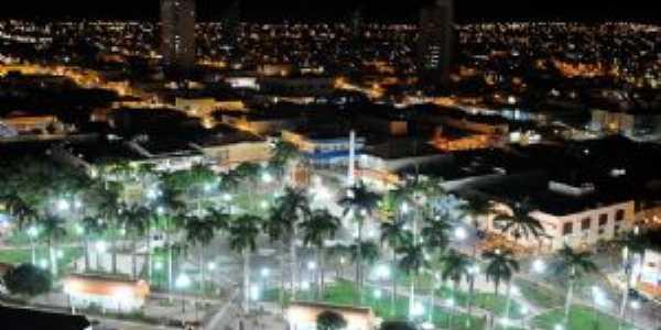 Vista aérea da Praça Dr. Gama, Por Teka Betine