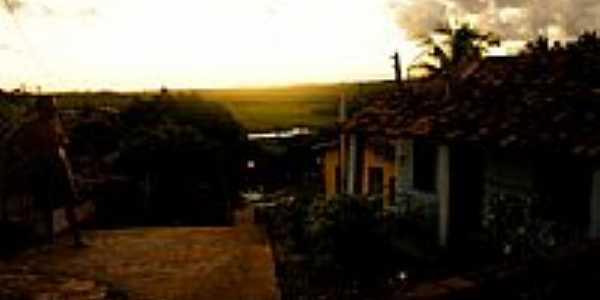 Palame-BA-A Vila e ao fundo o Rio Bu-Foto:misscheck-in.com