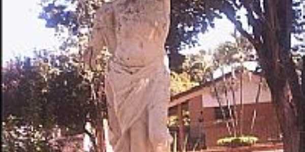 Estátua de São Sebastião-Foto:Julierme
