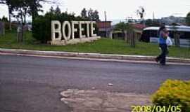 Bofete - Entrada de Bofete-SP