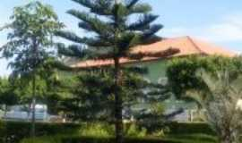 Palmas de Monte Alto - pra�a da prefeitura de palmas de mote alto, Por Renato santos