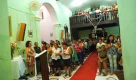 Palmas de Monte Alto - interior da igreja de nossa senhora mãe de deus e dos homens, Por DJKIBÃO MANDALA