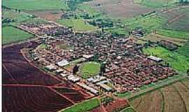 Boracéia - Vista aérea de Boracéia-SP