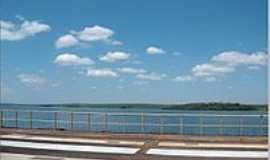 Boracéia - Rodovia sobre a represa do Rio Tietê-Foto:LuziACruzFrata