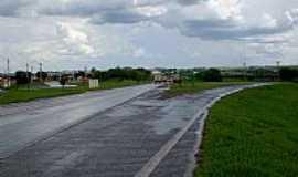 Borborema - Borborema-SP-Trevo de acesso-Foto:BUI IBITINGA