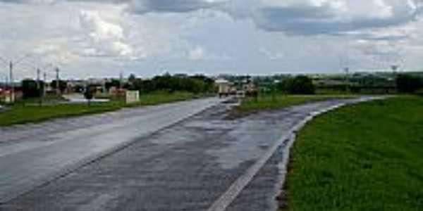 Borborema-SP-Trevo de acesso-Foto:BUI IBITINGA