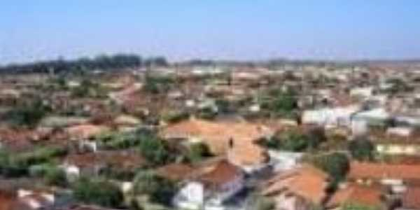 Vista a�rea de Borborema-SP, Por Paulo Araujo