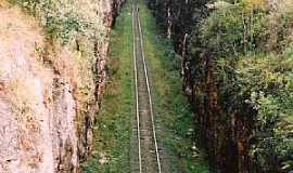 Botucatu - Botucatu-SP-Canyon da Estrada de Ferro-Foto:Adriano Martins