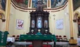 Brotas - Interior da Igreja Matriz., Por Guilherme Trombini